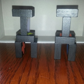Make two structures that are the same